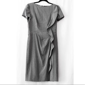 Authentic Valentino Houndstooth Shift Dress
